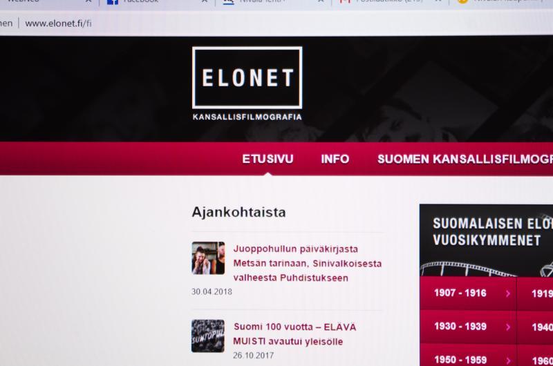 Kuvauspaikat tallennetaan Kansallisen audiovisuaalisen instituutin Elonet-tietokantaan.