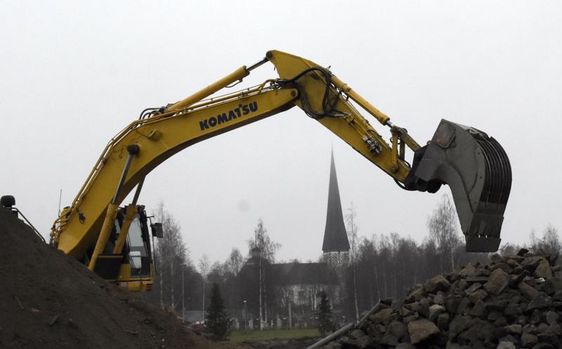 Uuden kielikylpykoulun rakentaminen on jo käynnissä.