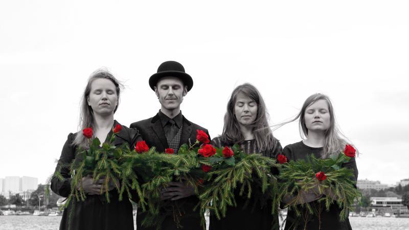 Punavalkoiset laulut rantautuvat marraskuun lopulla myös Kokkolaan.