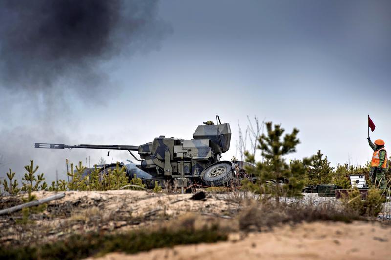 Valtakunnalliset ilmapuolustusharjoitukset alkavat tiistaina Vattajalla.