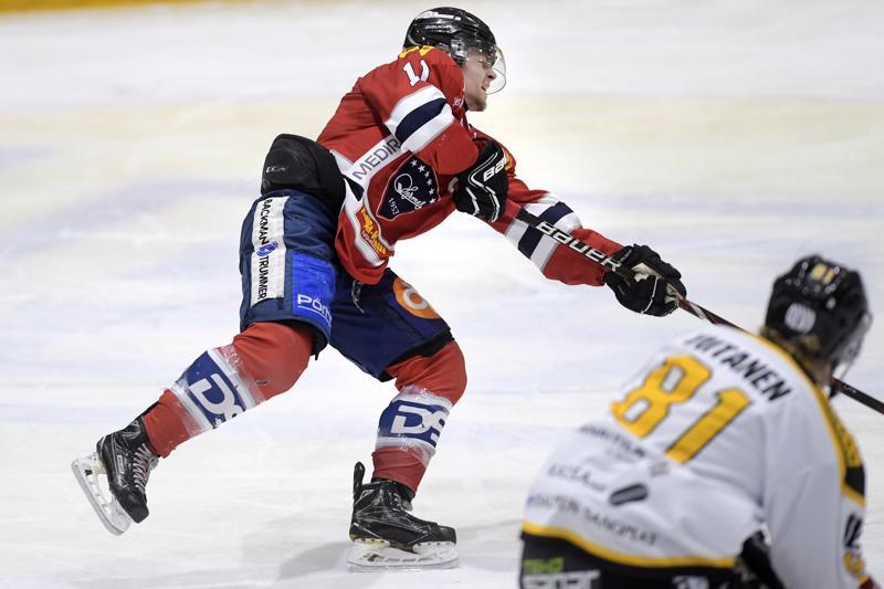 Joonas Niemelä palasi pelaavaan kokoonpanoon ja sai tililleen yhden syöttöpisteen.