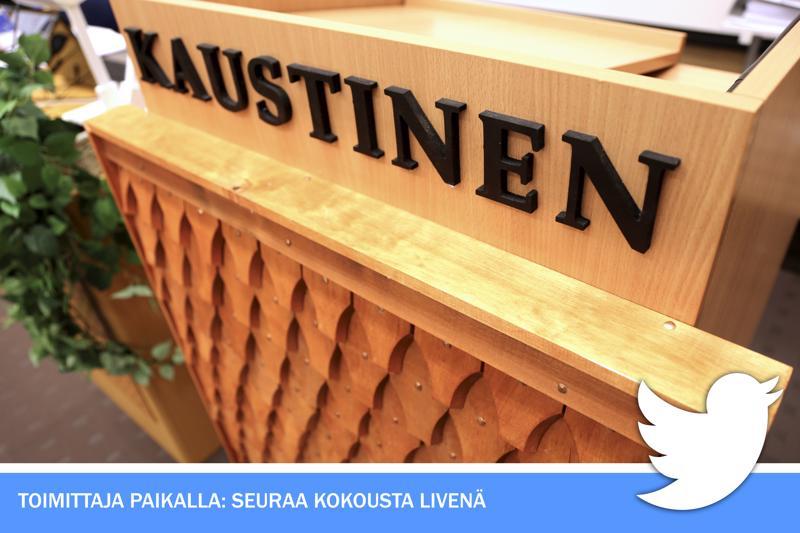 Livetwiitit Kaustisen valtuuston lehtereiltä klo 19 alkaen @Kepari_toimitus -tililtä.