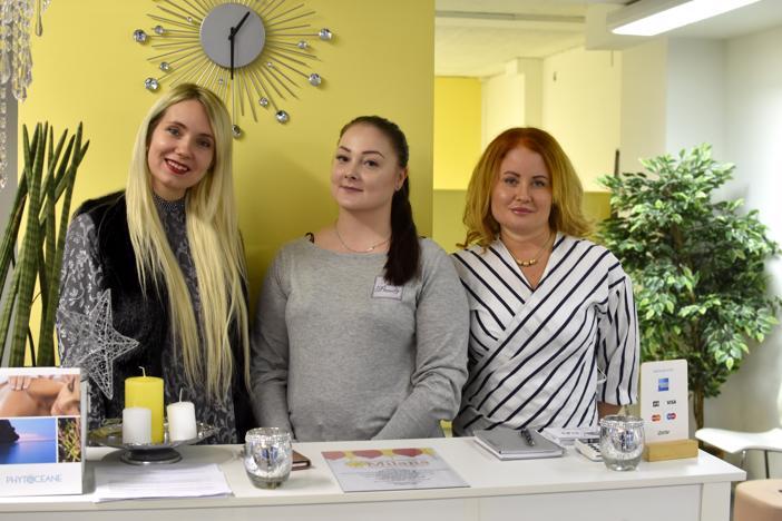 Muun muassa Anastasia Häggblom, Janica Wikström ja Jaana Kotanen työskentelevät torstaina avattavassa Perhesalonki Milanassa.