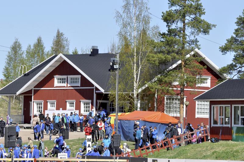 Pyssyhovi toimii kilpailukeskuksena monissa urheilukilpailuissa. Arkistokuva SM-maastoista vuodelta 2011.