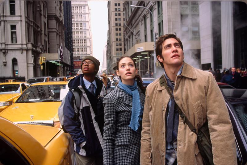 Day After Tomorrow on painajainen ilmastonlämpenemisestä seuraavasta katastrofista. Arjay Smith, Emmy Rossum ja Jake Gyllenhaal yrittävät selviytyä New Yorkissa.