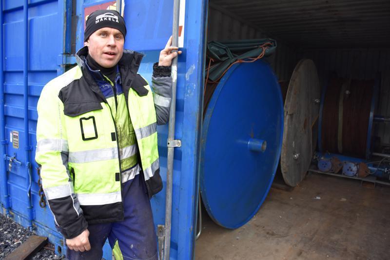 Markus Mäkelä on Silta-Asennus Mäkelä Oy:n toimitusjohtaja.