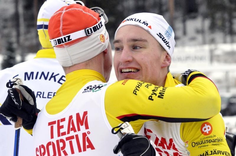 Heikki Korpela sivakoi maailmancupin sprintissä.