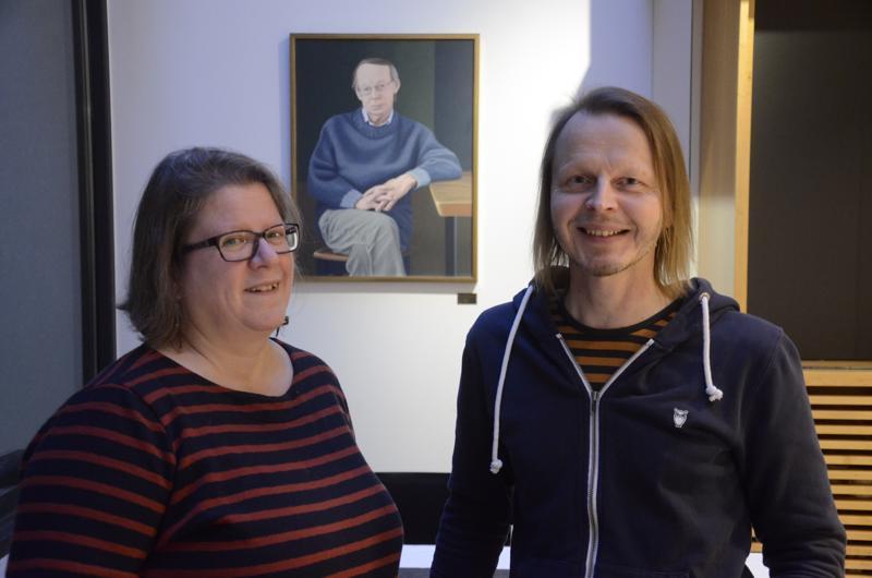 Maria Pulakka ja Veli-Matti Puumala järjestävät Kaustisen kamarimusiikkiviikkoa P.H.Nordgrenin jalanjäljissä.