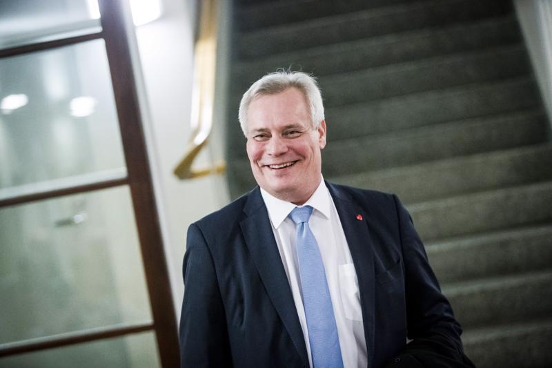 Sdp:n puheenjohtaja Antti Rinne tuli Kittilän kuntakäräjille todistajaksi. Hän oli syyttäjän kutsuma todistaja.