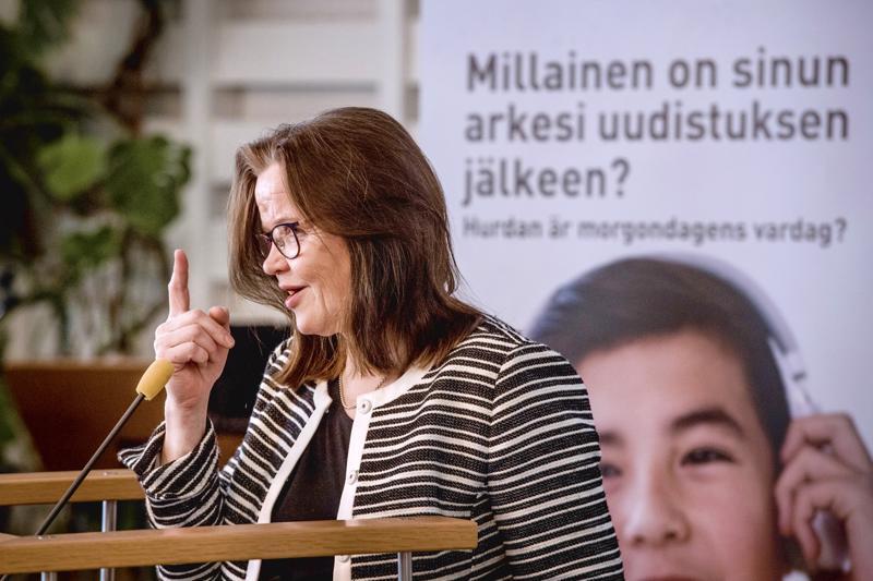 Alivaltiosihteeri Päivi Nergin projektina on itsenäisen Suomen historian suurin sosiaali- ja terveydenhoidon uudistus yhdessä maakuntauudistuksen kanssa.