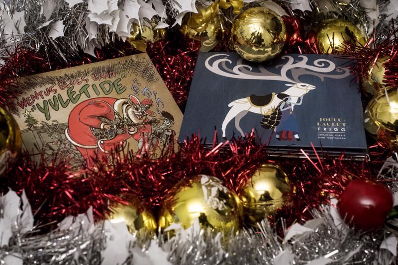 Wentus Blues Band ja Frigg tekivät joululevyt.