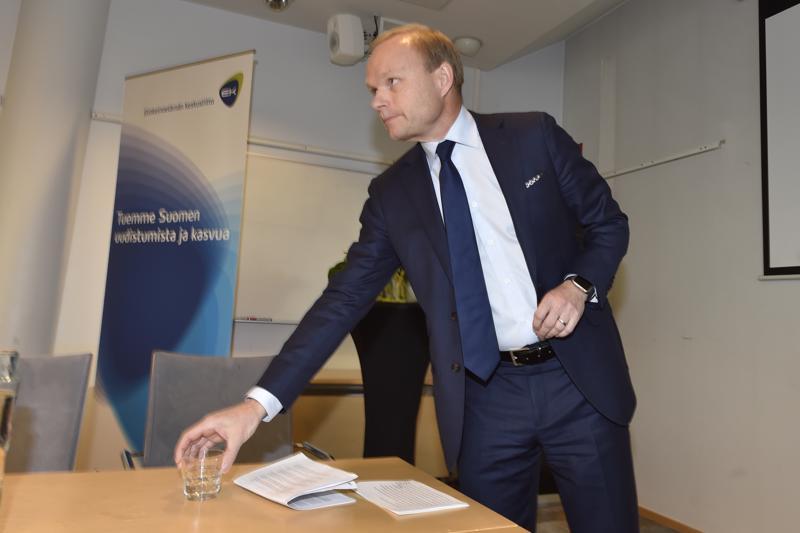 Pekka Lundmark on ensi vuonna EK:n hallituksen puheenjohtaja. Luottamustoimi alkaa 1. tammikuuta 2019.