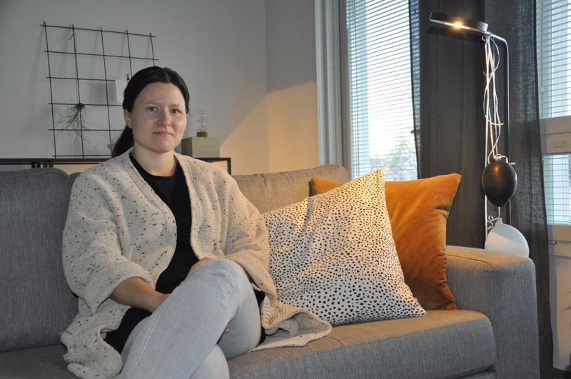 Kannuslainen Seela Kivioja ei ota stressiä jouluvalmisteluista. Lasten kanssa olemiseen pitää olla myös aikaa.