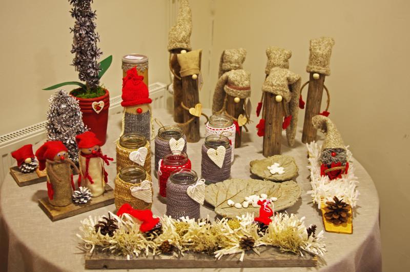 Joulumyyjäisiin on tehty tavaraa kesästä lähtien.
