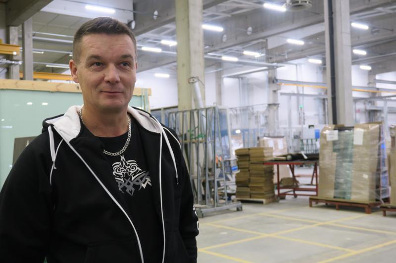 Best Glass Oy:n toimitusjohtaja Teemu Ohtamaa.