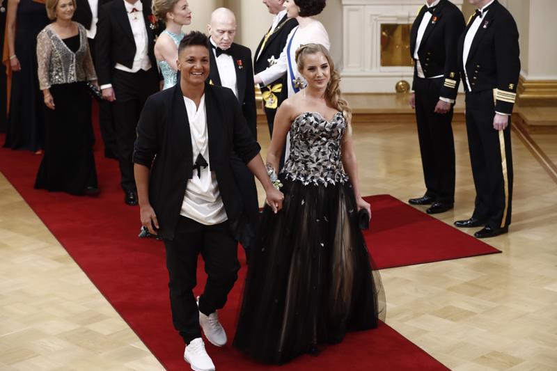 Linnan rennoimpia pukeutujia on varmasti Vaasan nuorisovaltuuston puheenjohtaja Antonio Teca.