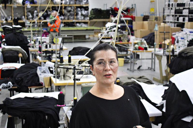 Uusi tehdas on avara, ilmava ja valoisa. Tilaa riittää uusillekin työntekijöille. Tämä on juuri sellainen kuin halusimme, sanoo Onerva Aakko.
