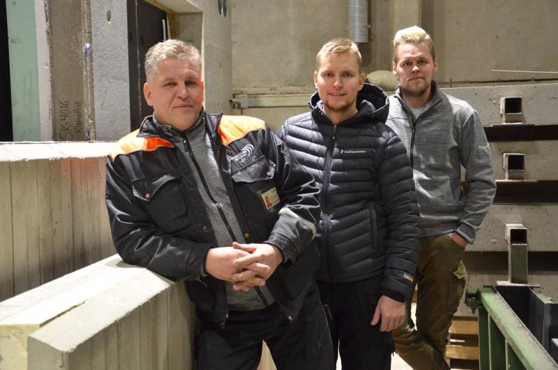 Klemolan Betoni pitkän linjan perheyritys, jonka Juho Klemola perusti vuonna 1953. Nykyään yrityksen osakkaita ovat Juhon poika Sakari Klemola (vas.) sekä Sakarin pojat Jussi ja Jani Klemola.