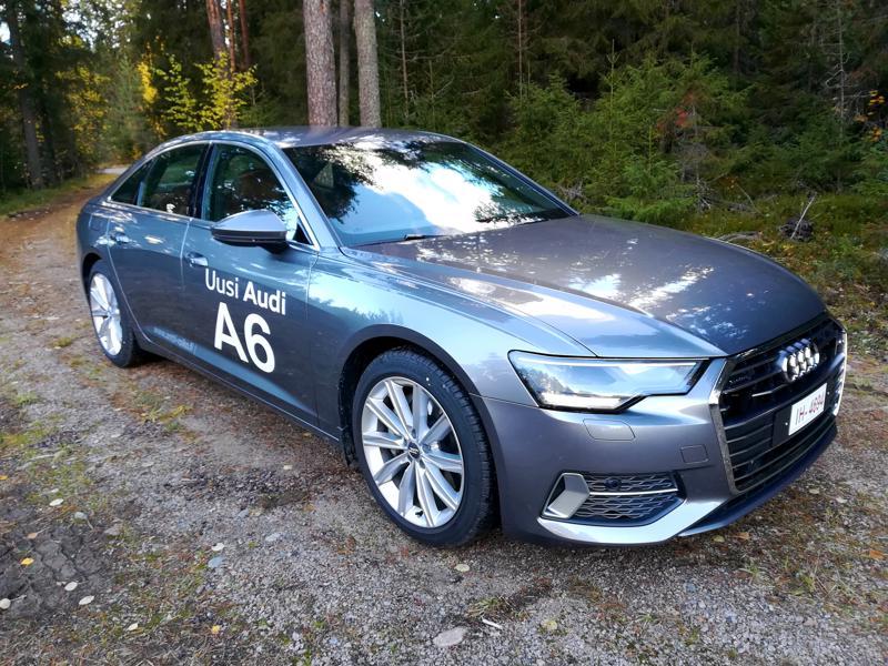 Uusi A6 on ilmeikäs ja samalla klassinen kokonaisuus.