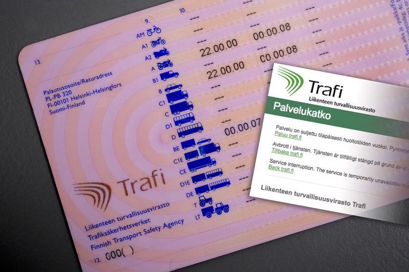Liikenteen turvallisuusvirasto Trafin päätös julkaista suomalaisten tiedot ajo-oikeudesta netissä sai aikaan kohun. Kohun seurauksena Trafi sulki palvelun.