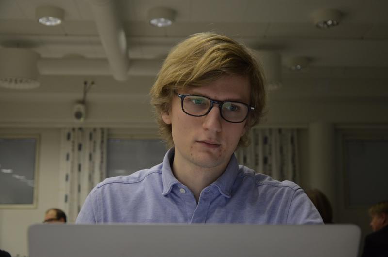 Tuomas Jokioja puhui tiistaina Kokkolassa tekoälystä.