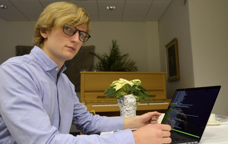 Tuomas Jokioja on data-analyytikko ja koneoppija.