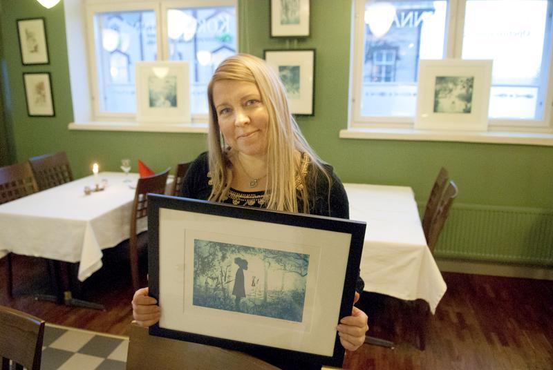 Eeva Huotarin näyttely on esillä Kokkolinnassa.