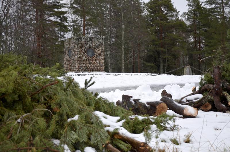 Halkokarin kahakan muistomerkin ympärillä on vuorimännyistä enää rankakasat jäljellä. Kahakkaranta sijaitsee uudehkon rantaraitin varrella ja on yksi Kokkolan suosituimmista ulkoilukohteista.