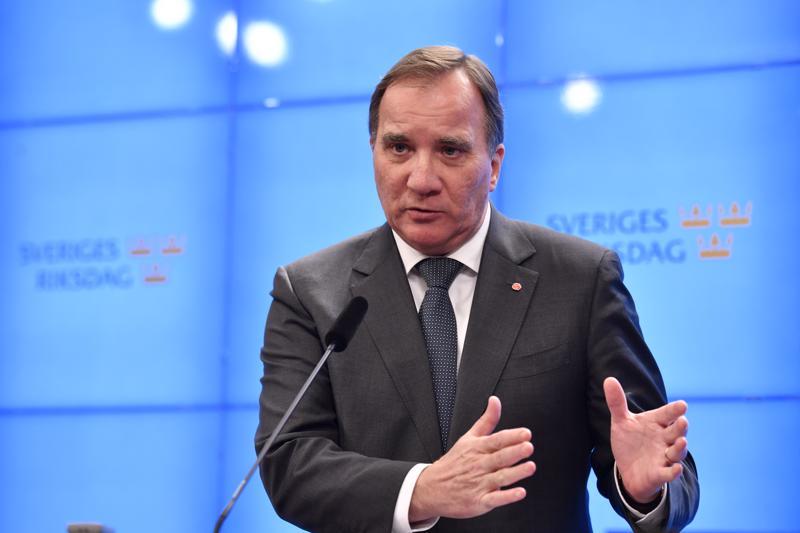 Demarijohtaja Stefan Löfvenin valinta uudeksi pääministeriksi kaatunee perjantaina Ruotsin valtiopäivillä.