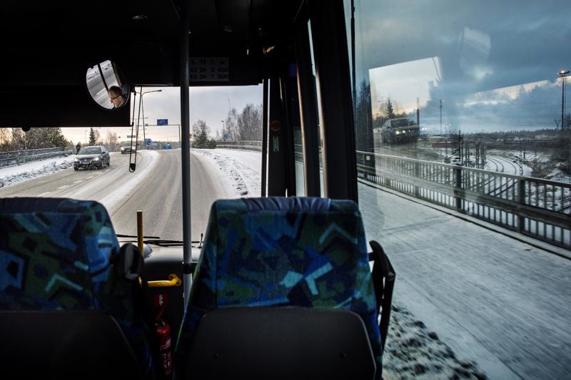 Keskiviikon ensimmäisellä vuorolla Kokkolan keskustasta Heinolan alueelle ei matkustanut kukaan.