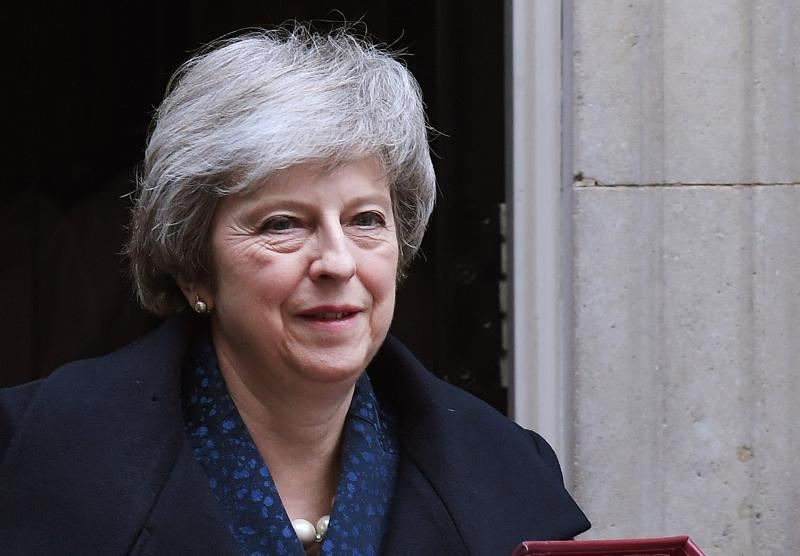 Pääministeri Theresa May on sinnikkäästi ajanut Britannian EU-eroa läpi poliittisen turbulenssin.