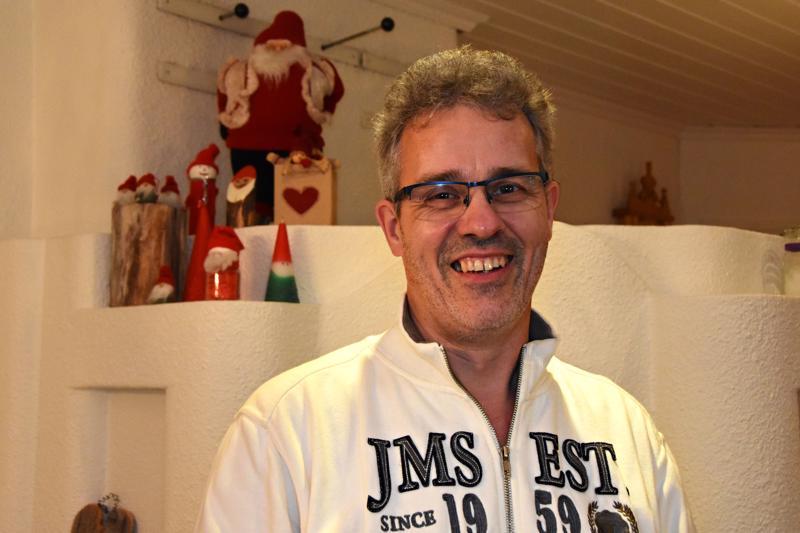 Seppo Ahon syntymäpäivä on aina jäänyt vähän joulun jalkoihin, eikä hän aio juhlia viisikymppisiäänkään sen suuremmin.