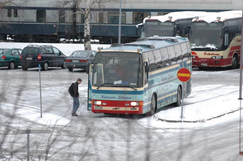 J.E. Klemetin ja Kamusen Liikenteen joukkoliikennepalveluihin tehdään indeksitarkistus ensi vuoden alusta Ylivieskassa.