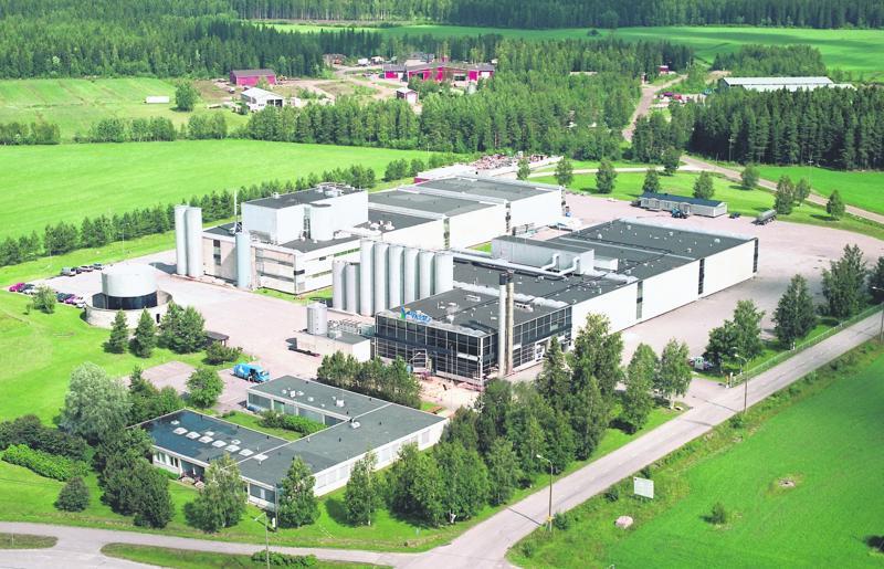 Juuston valmistus Valion tiloissa Toholammilla lopetettiin vuonna 2015. Arkistokuva.