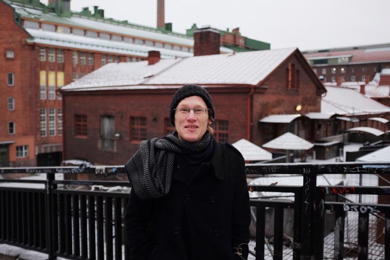 Jussi Seppänen tykkää olla reissun päällä.