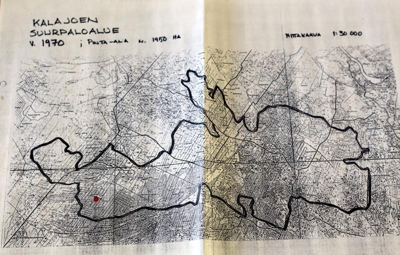 Tuli jätti jälkeensä 1595 hehtaaria palanutta metsää Tyngällä ja Etelänkylällä