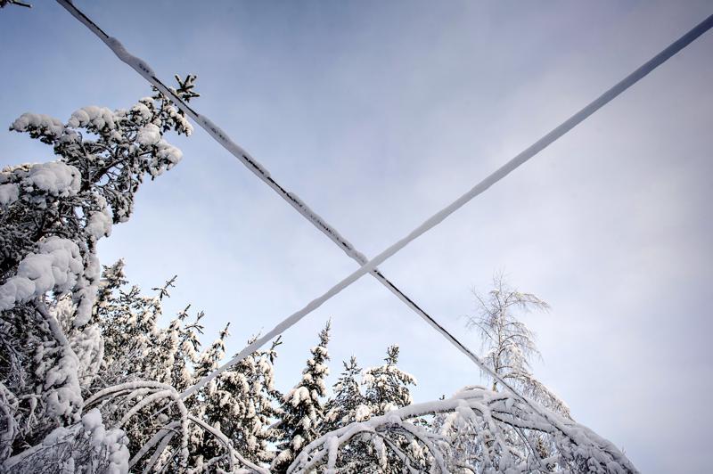Sähkökatkoja aiheuttava vika on Suomen 220/110 kV kantaverkossa.