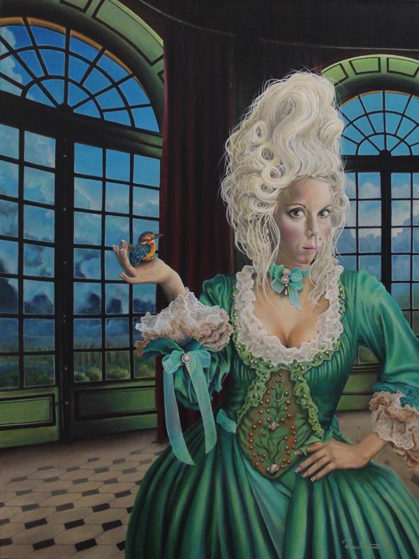 Nora Karolina sijoittui toiseksi the2017 American Art Awardseissa kategoriassa Acrylic-Human Figure.