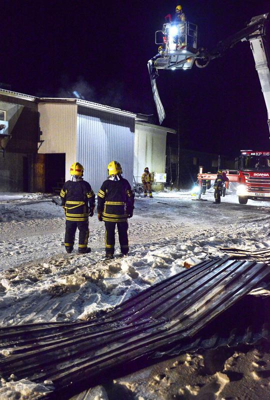 Tulipalo saatiin nopeasti hallintaan.