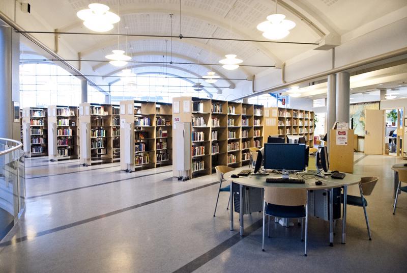 Centria-ammattikorkeakoulun koulutuskirjasto muuttaa pois kaupunginkirjastosta kevään aikana.