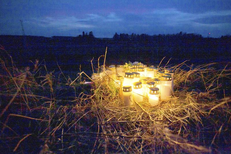 Kalajoki suri lokakuussa kolmen nuoren miehen hengen vaatinutta auto-onnettomuutta.