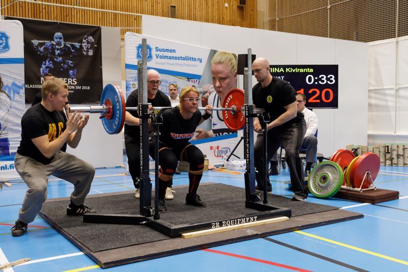 Parannettu kyykkytekniikka tuotti uuden Suomen ennätyksen.