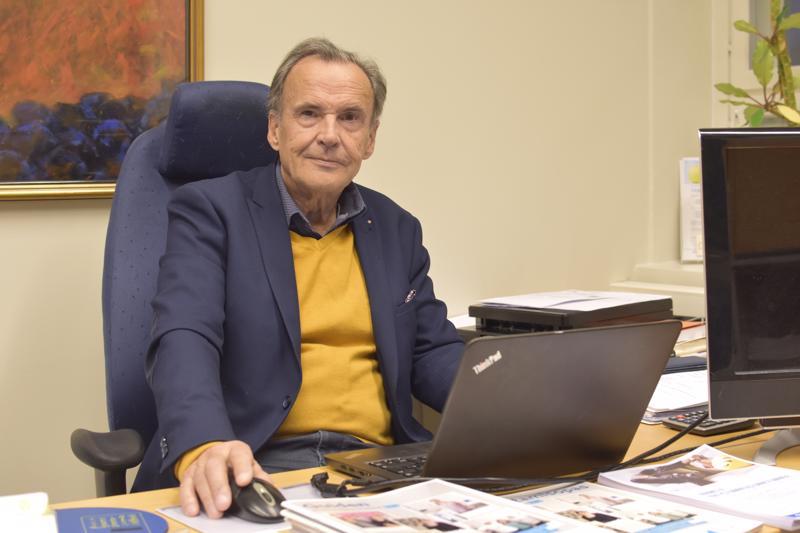 Per-Göran Kåla jää eläkkeelle, mutta lupaa olla konsulttiapuna jatkossakin.