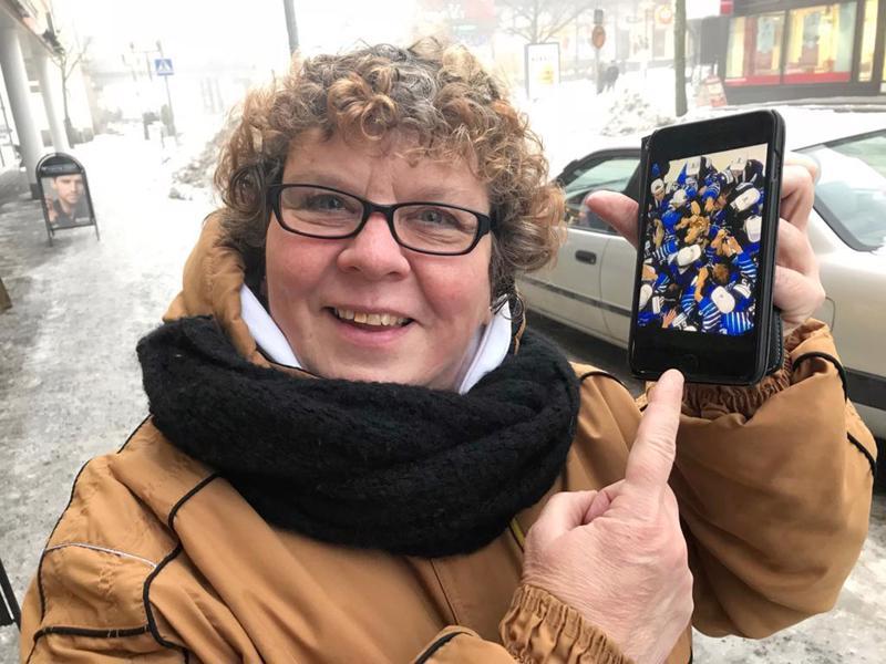 Toni Utusen äiti Hilkka Vierimaa on innoissaan koko joukkueen menestyksestä.