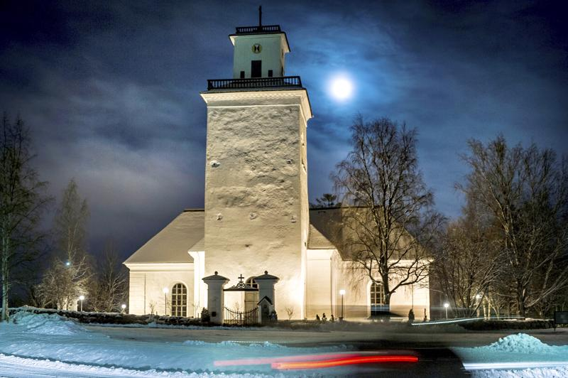 Kaarlelan kirkossa tehdään sisäremonttia, joka kestää kesäkuuhun saakka.
