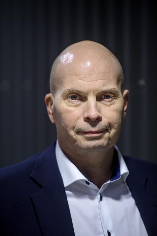 Kokkolan Sataman toimitusjohtaja Torbjörn Witting kertoo ruoppaustyön tehostavan sataman liiketoimintaa.