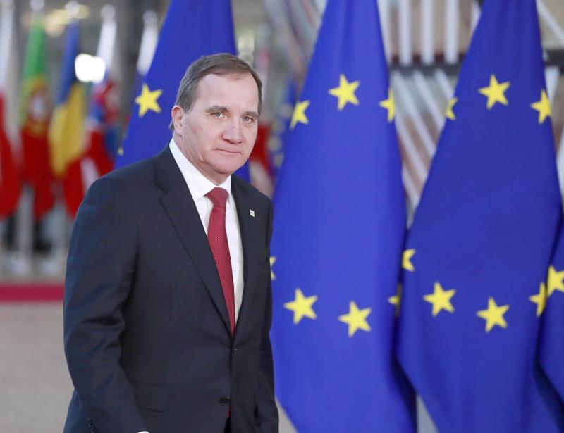 Ruotsin sosiaalidemokraattien puheenjohtaja Stefan Löfven on saamassa jatkokauden pääministerinä.