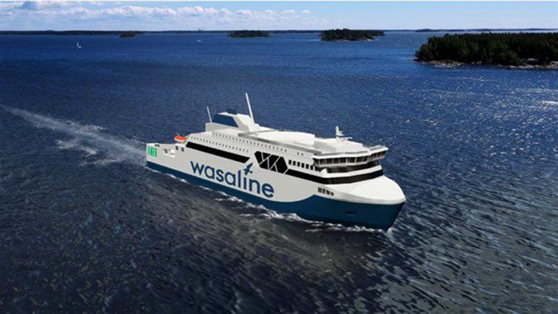 Uusi Vaasa–Uumaja-laiva rakennetaan Rauman telakalla. Rakentaminen työllistää 800 henkilötyövuotta. Matkustajia laivalle mahtuu 800.