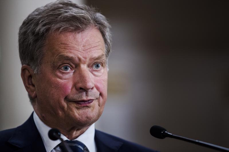 Presidentti Sauli Niinistö haluaa nähdä Pääesikunnan selvityksen Lemmenjoen kertausharjoituksen tapahtumista. Arkistokuva.