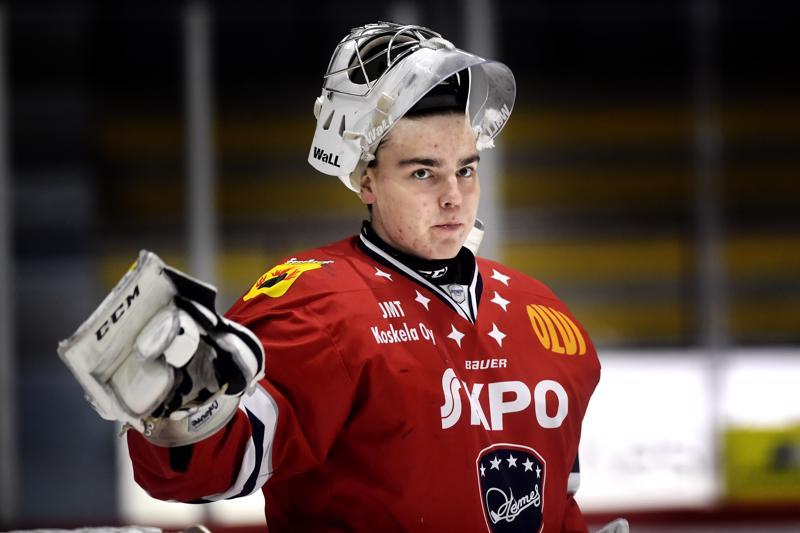 Justus Annusen torjunnat pohjustivat Hermeksen ensimmäisen voiton SaPKosta tällä kaudella.